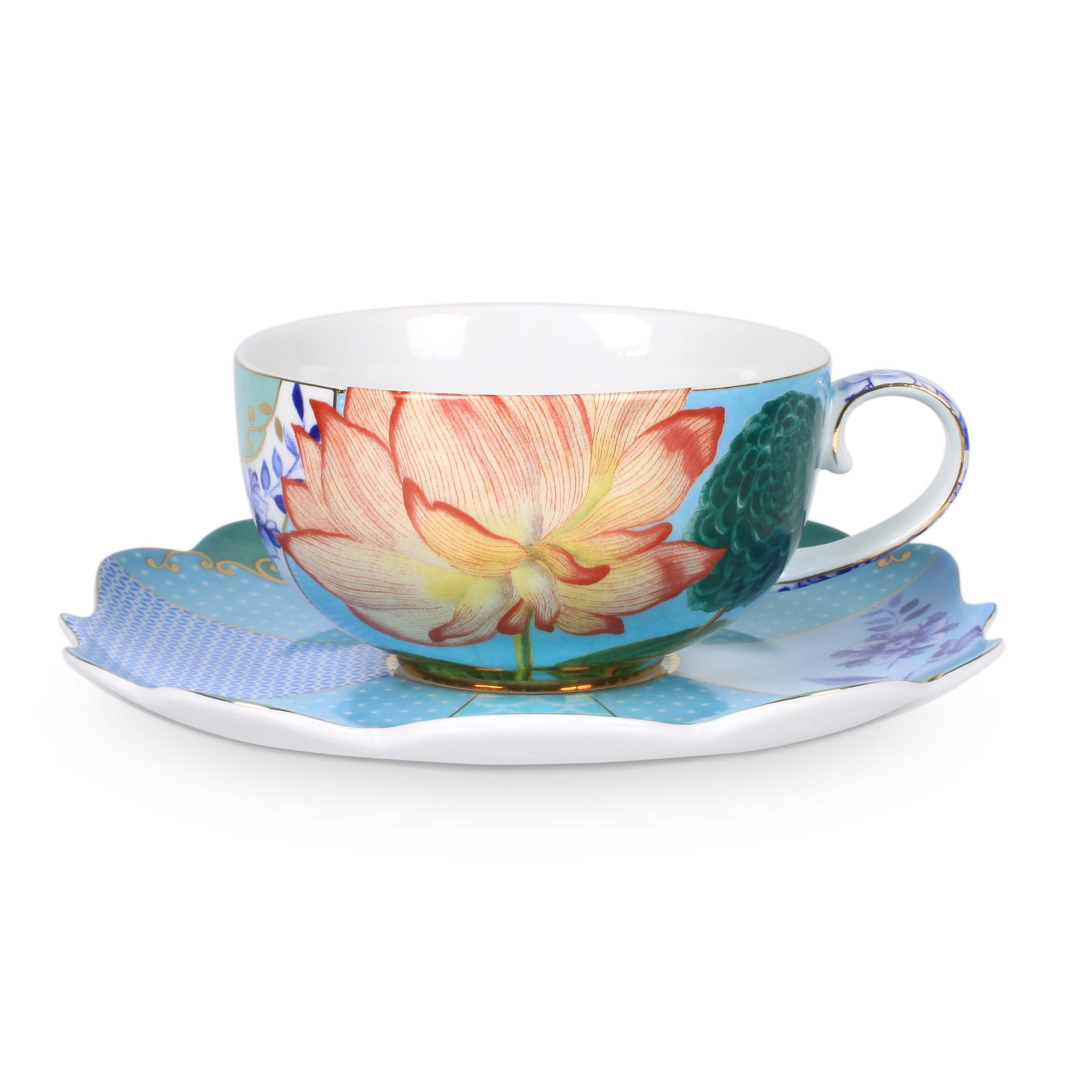 Pip Studio Royal Tasse & Untertasse Flowers