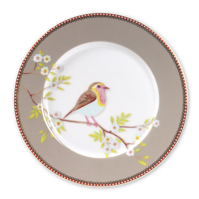 Pip Studio Early Bird Khaki Teller (21cm)