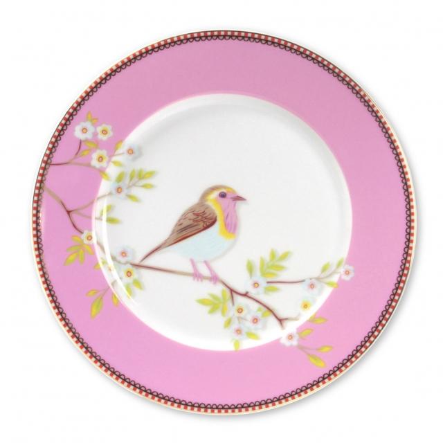 Pip Studio Early Bird Pink Teller (21cm)