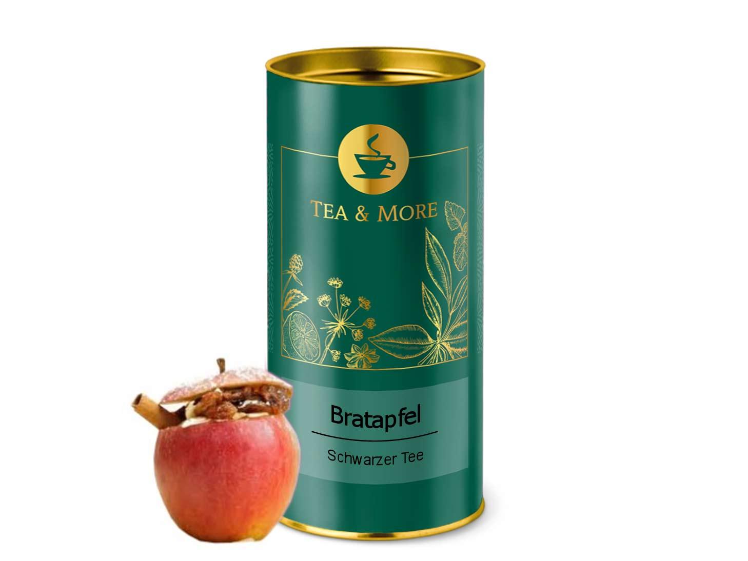 Schwarzer Tee - Bratapfel