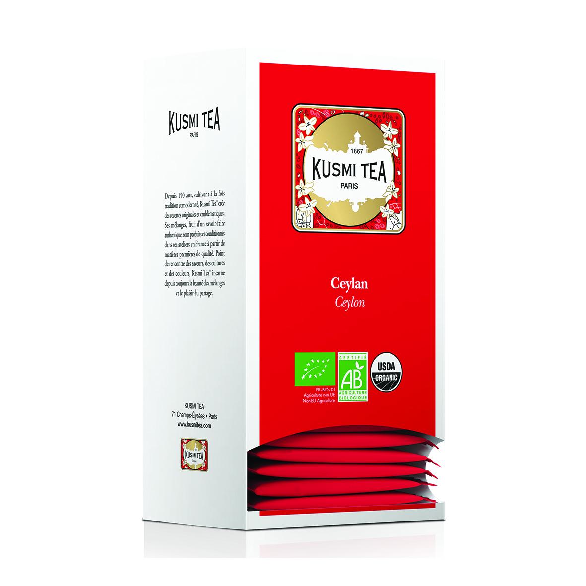Ceylan - Bio (25 Teebeutel, einzeln verpackt)