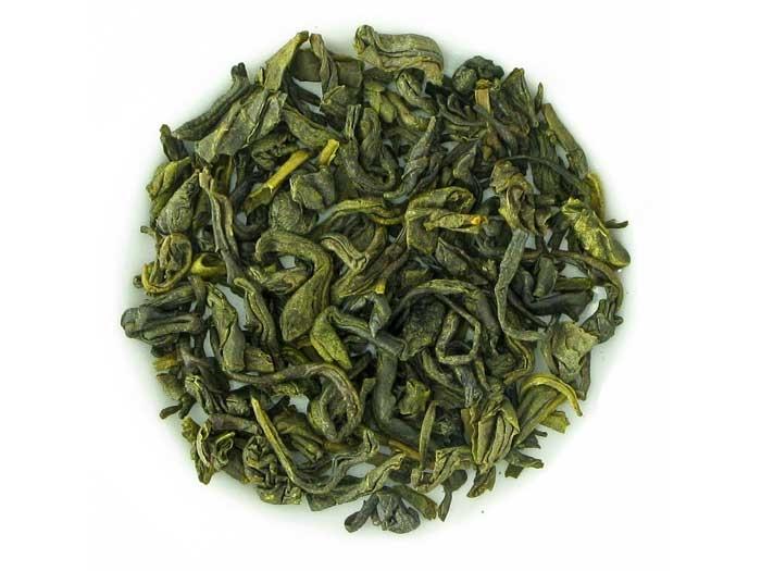 Grüner Tee mit Mandeln (125g Dose)