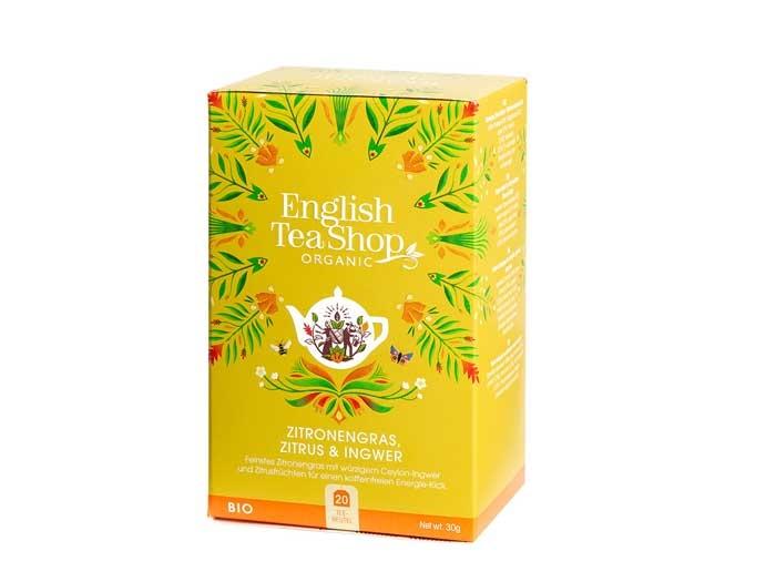 English Tea Shop Zitronengras, Zitrus & Ingwer (Bio)