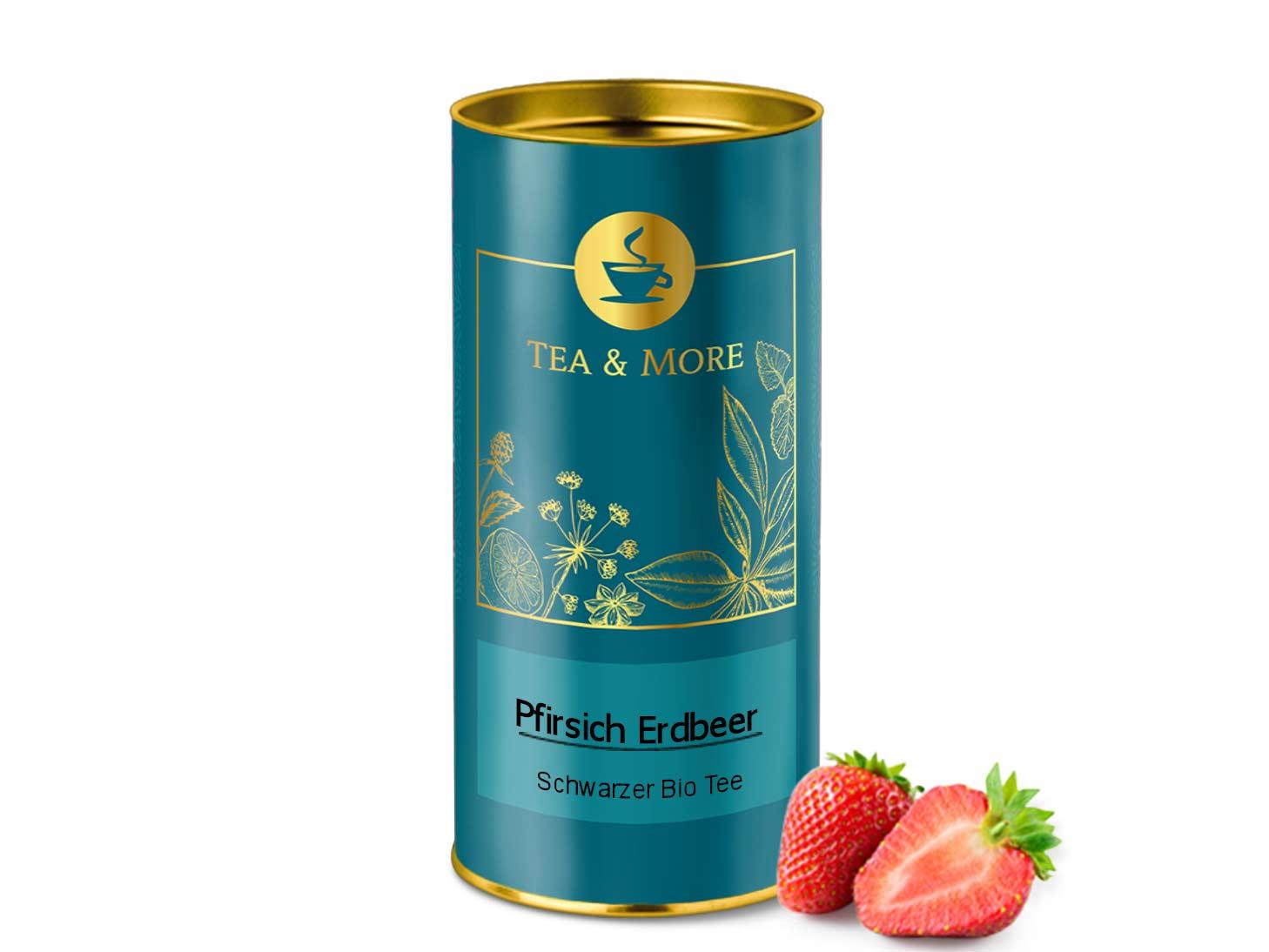 Pfirsich-Erdbeer (Bio)