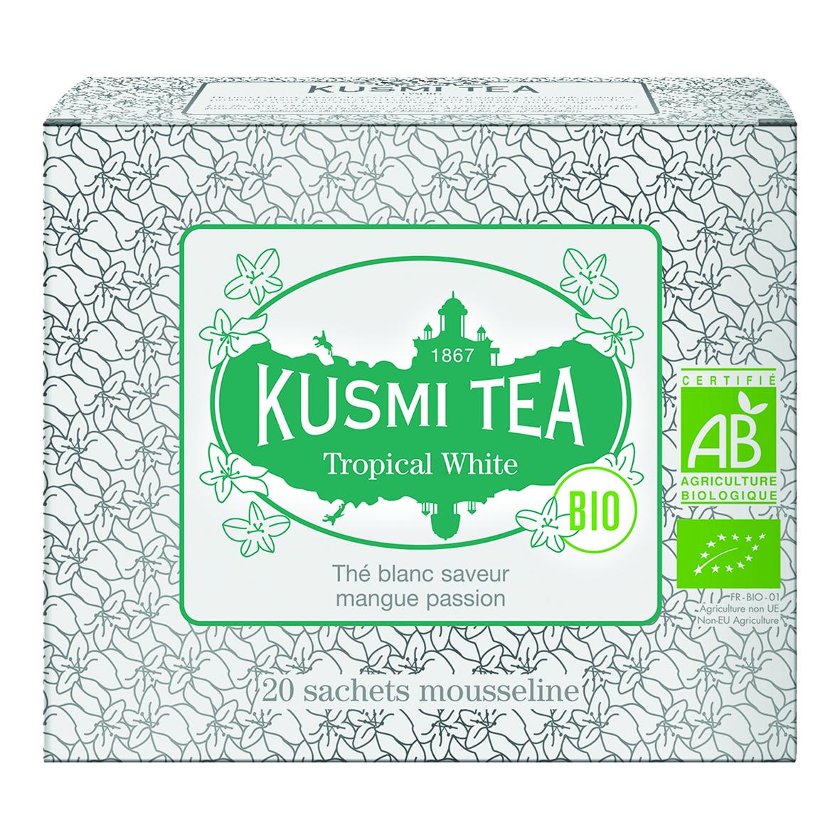 Tropical White - Organic (20 tea bags)