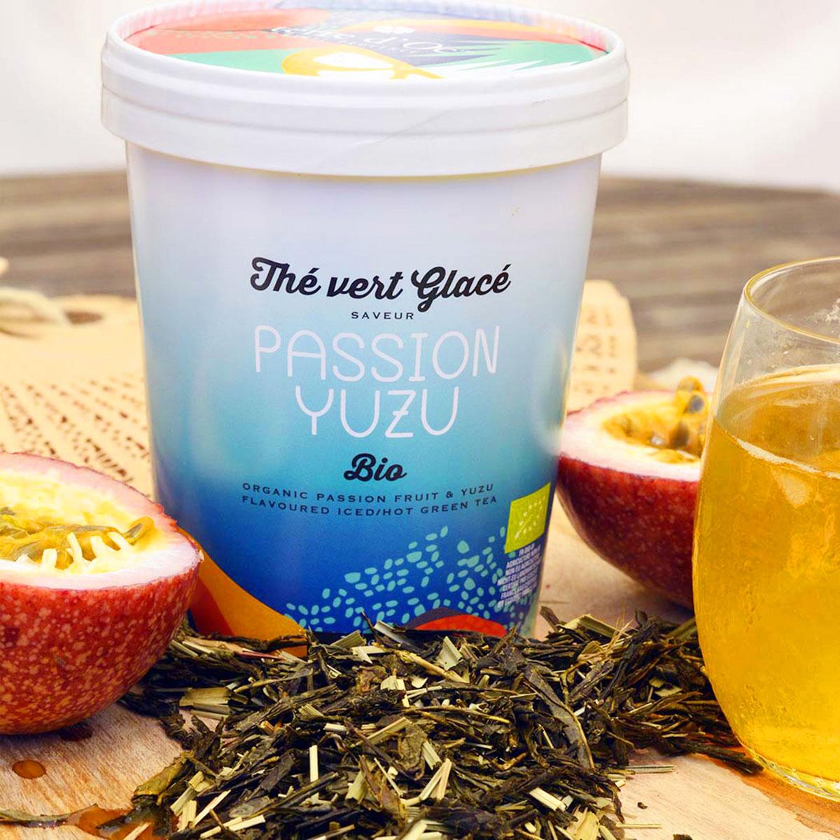 Black Tea/Iced Tea Passion Fruit & Yuzu - Organic