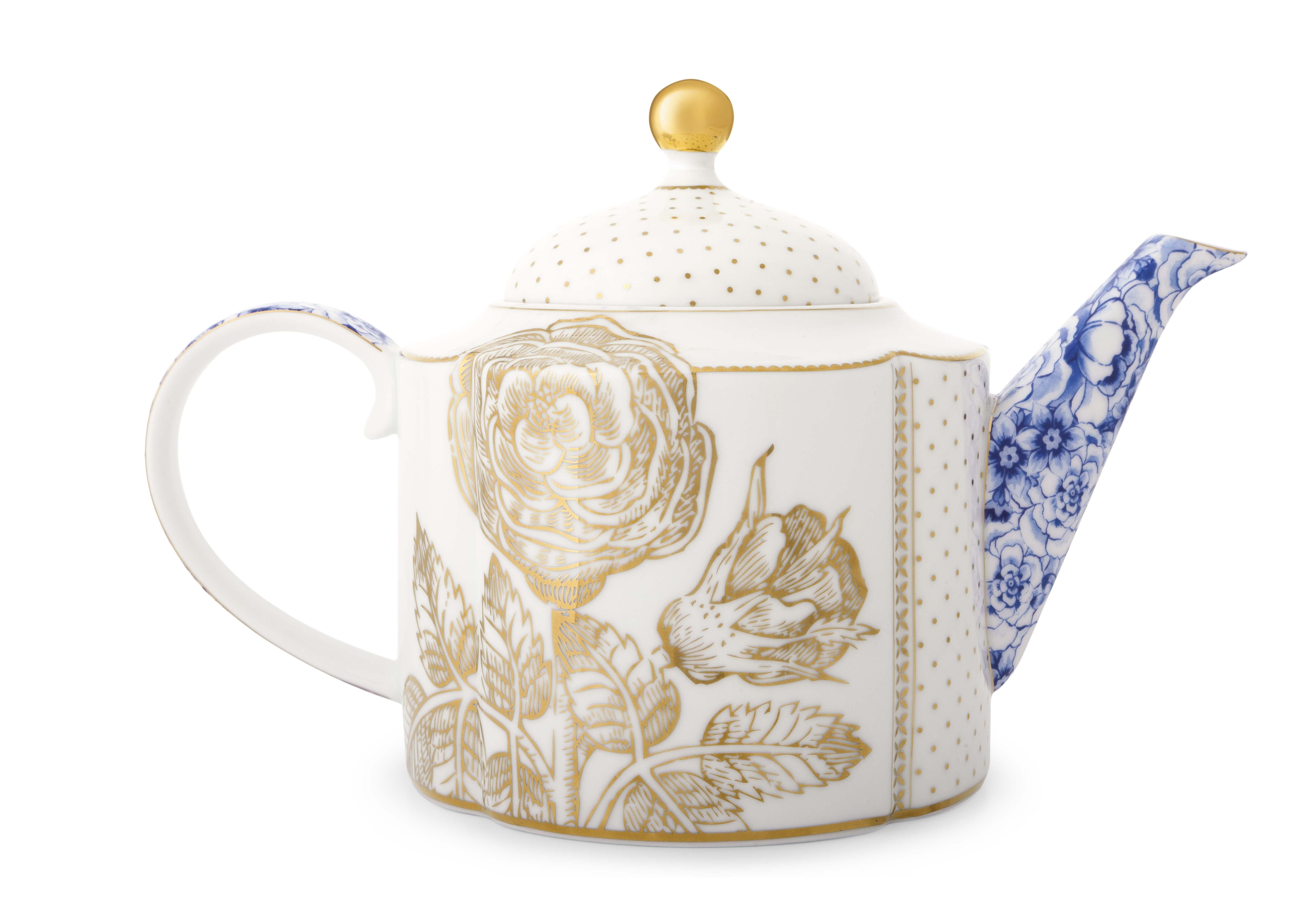 Pip Studio Royal White Teekanne Groß