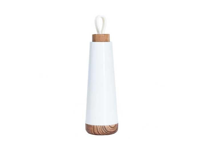 Trinkflasche bioloco weiß