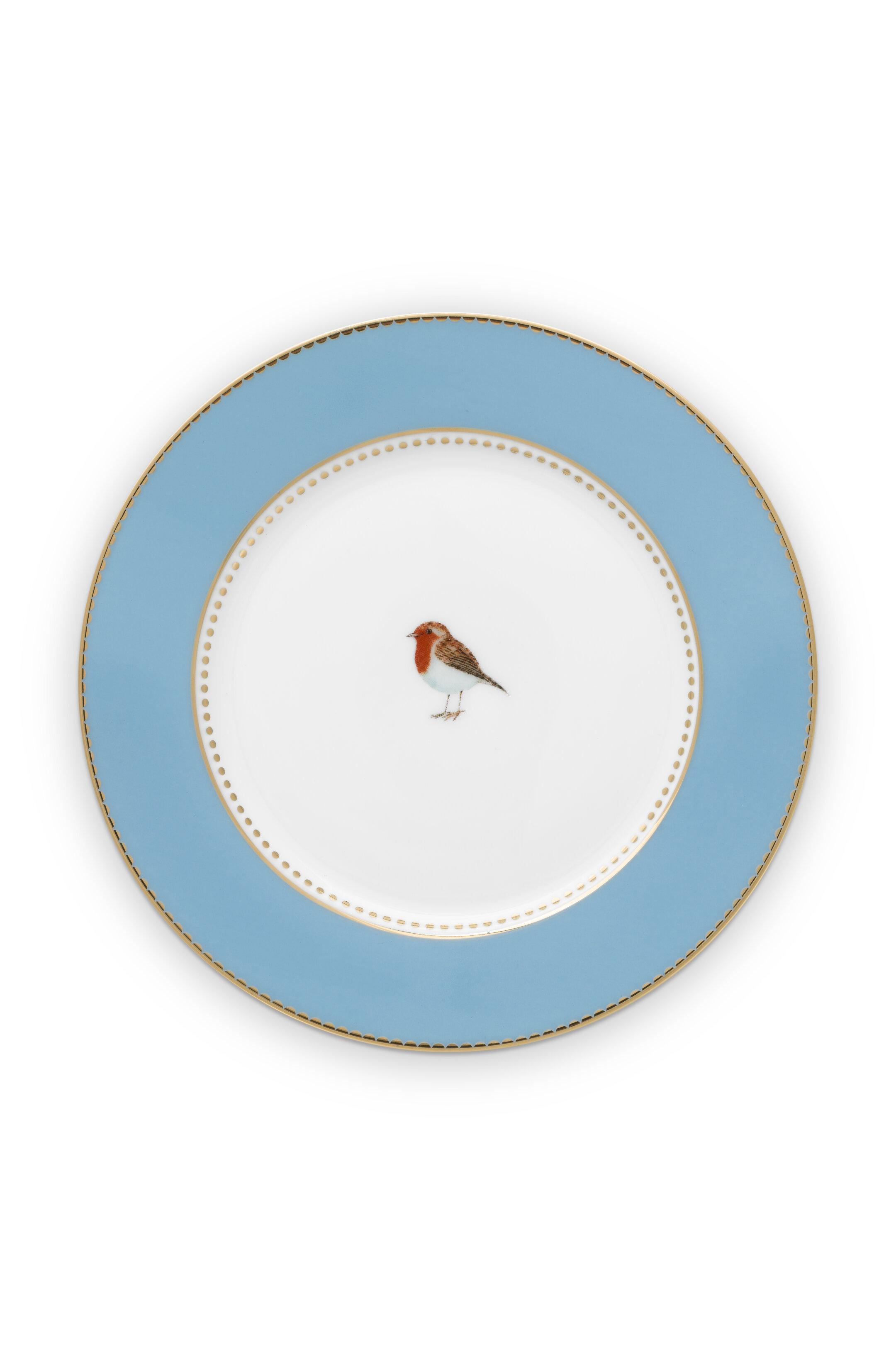 Pip Studio Love Birds Teller Blue (17cm)