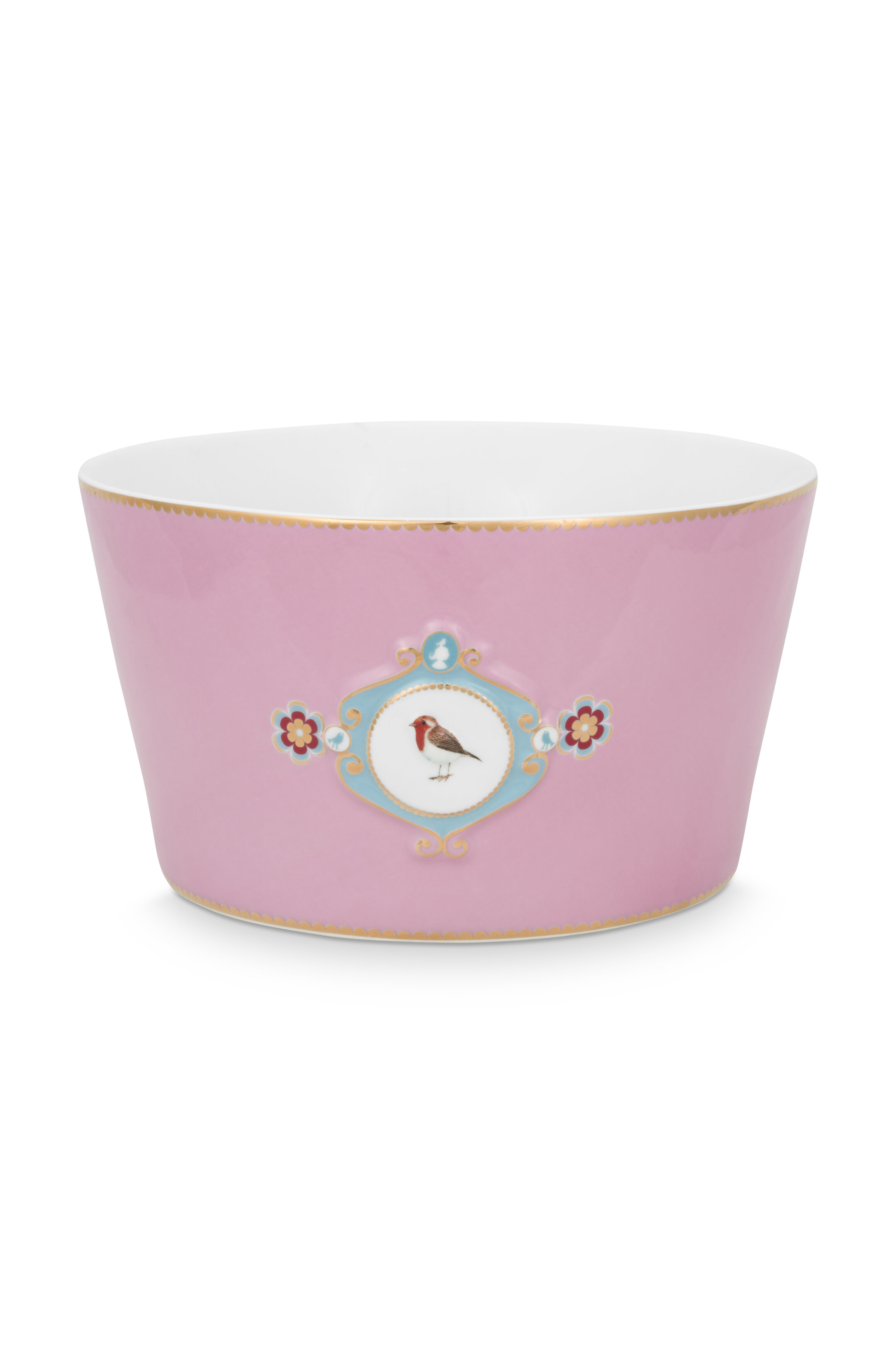 Pip Studio Love Birds Schale Medaillon Pink (20cm)