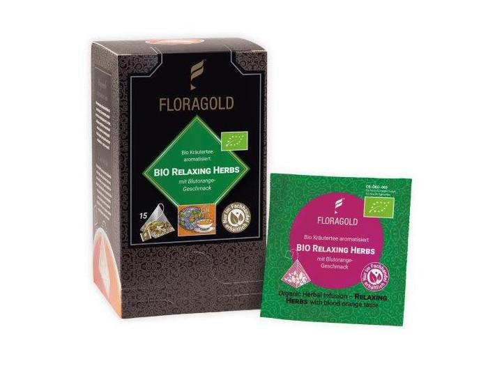 Relaxing Herbs Pyramidenbeutel (Bio)