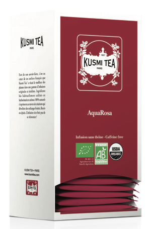 Aqua Rosa - Bio (24 Teebeutel, einzeln verpackt)