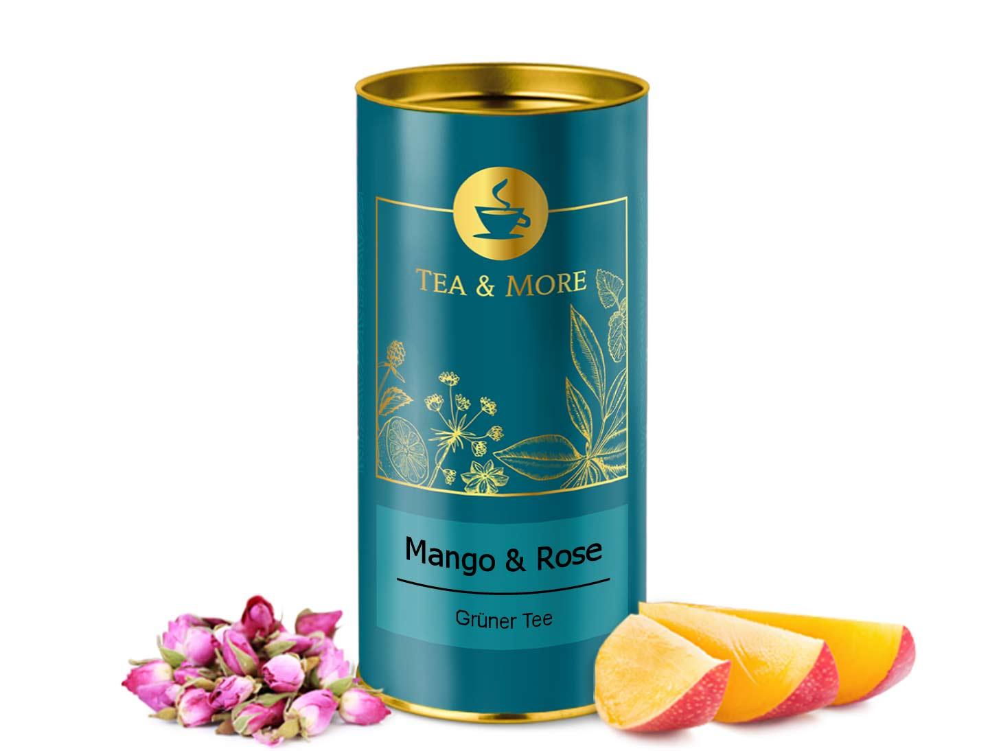 Mango & Rosenblüte