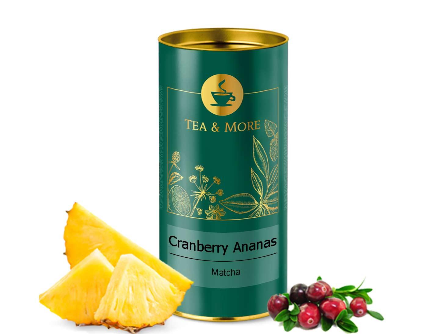 Matcha, Cranberry & Ananas