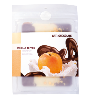 Marille Topfen 120g Tafel - Art of Chocolate