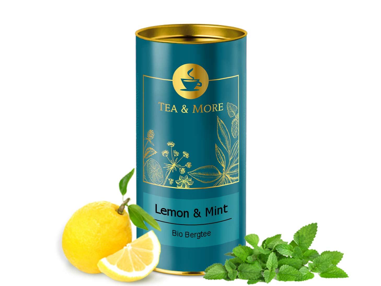Bergtee, Lemon & Minze (Bio)