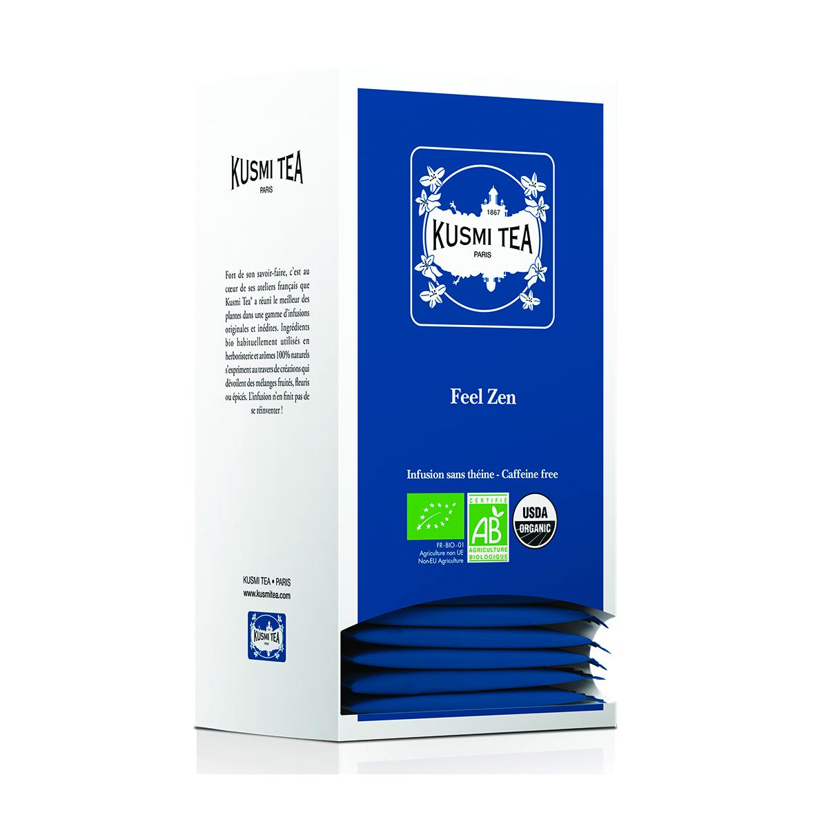 Feel Zen - Bio (25 Teebeutel, einzeln verpackt)