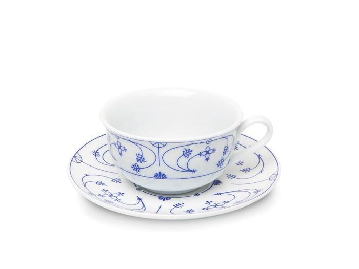 Ostfriesische Teetasse mit Untertasse