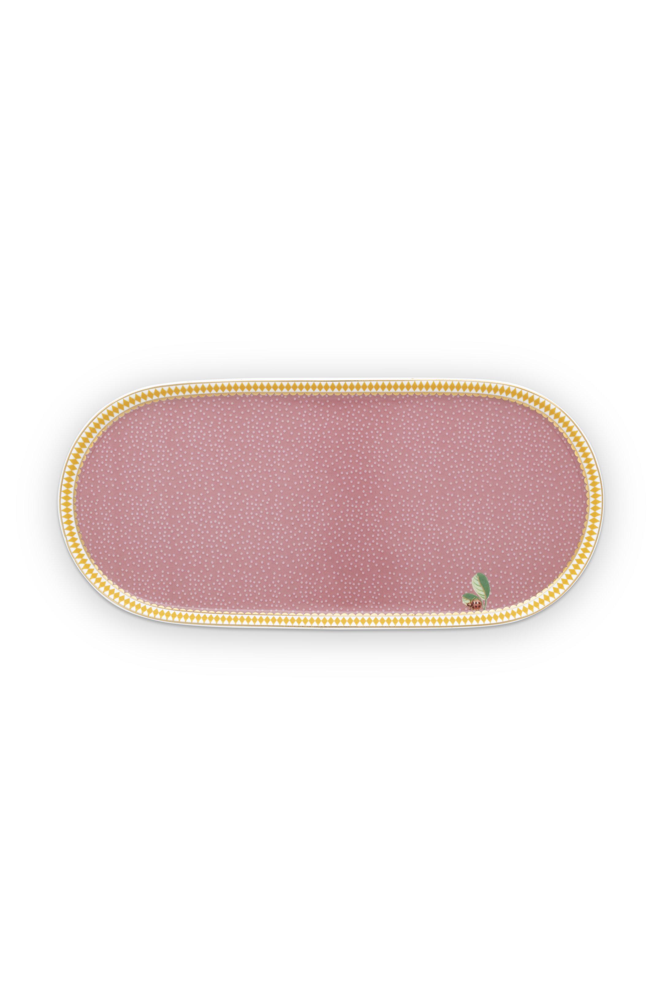Pip Studio La Majorelle Zucker- und Milchschale Pink