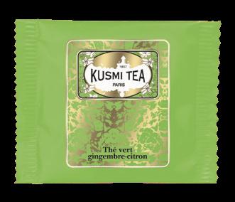 Green Tea Ginger Lemon - Organic (25 tea bags, individually packed)