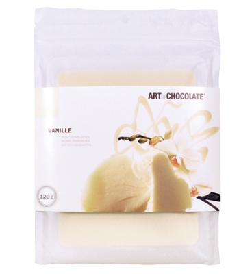 Vanille 120g Tafel - Art of Chocolate