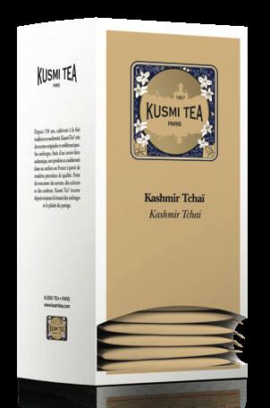 Kashmir Tchai (25 Teebeutel, einzeln verpackt)