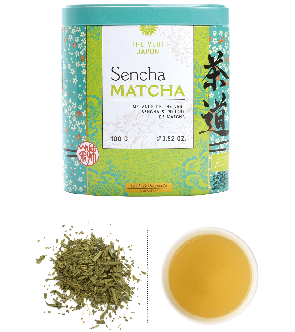 "Grüner Tee ""Sencha Matcha"" - Bio"