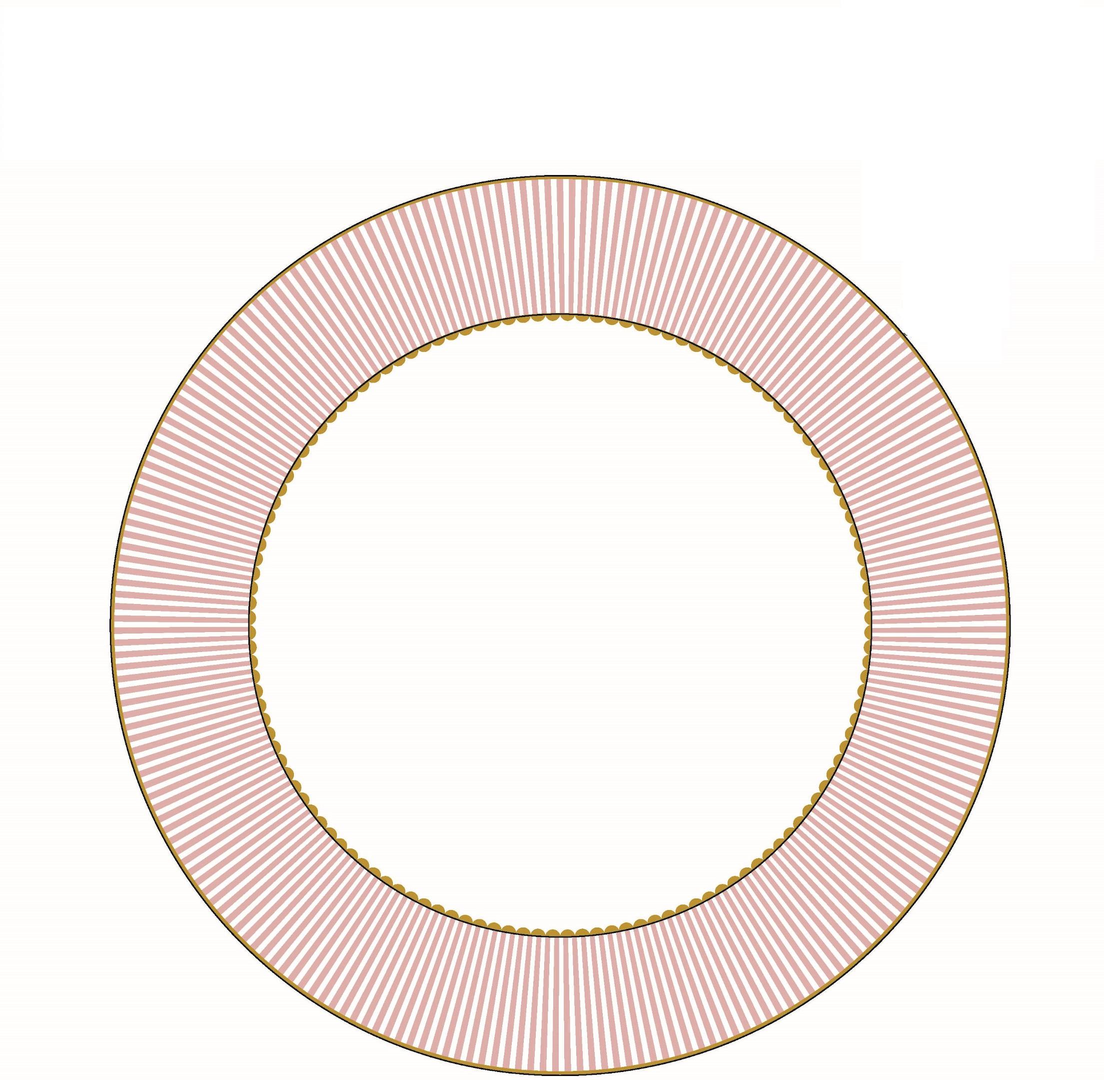 Pip Studio La Majorelle Suppenteller Pink (21.5cm)