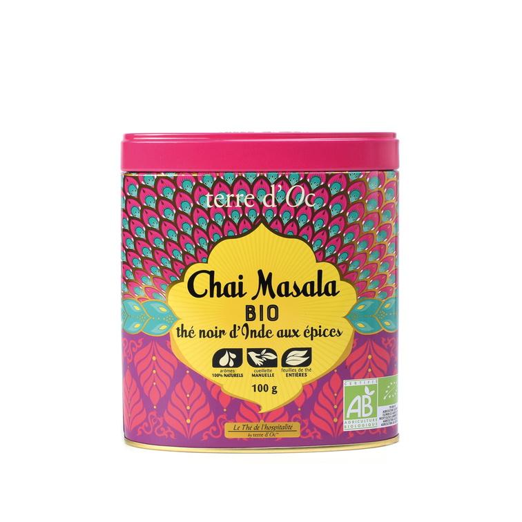 "Black tea ""Chai Masala"" - Organic"