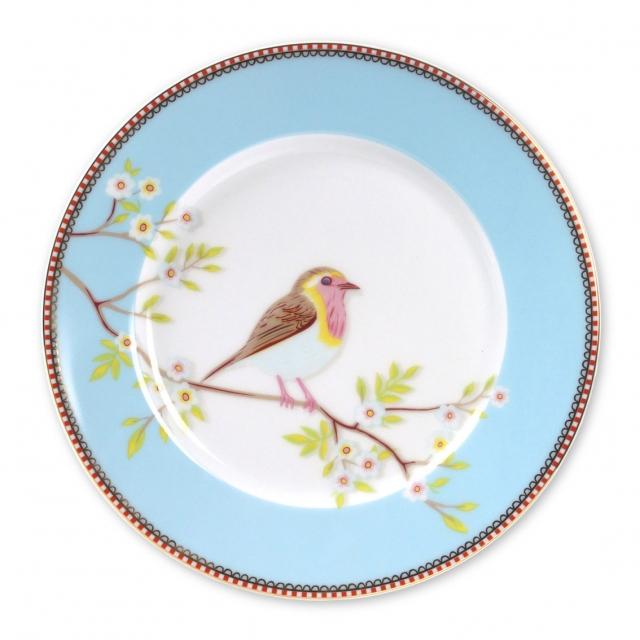 Pip Studio Early Bird Blue Teller (21cm)