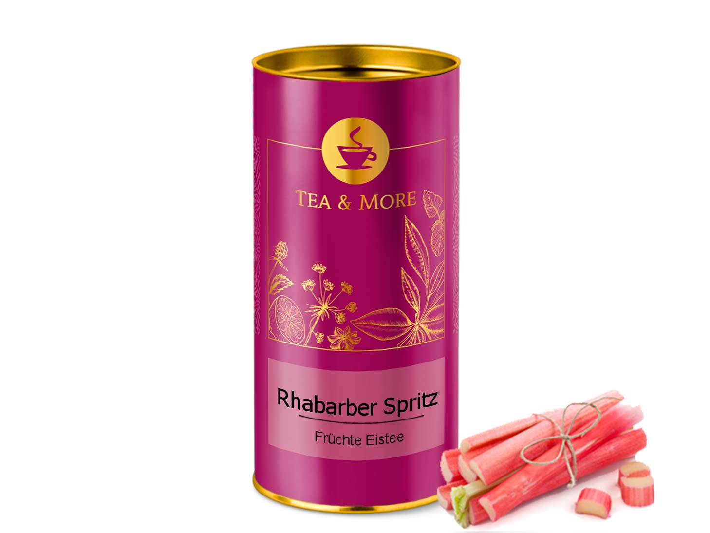 Rhabarber Spritz Ice Tea